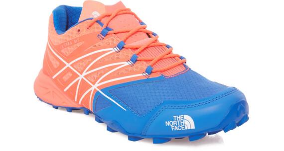 The North Face W's Ultra MT Shoes Rocket Red/Blue Quartz